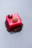 Cherry and chocolate cake Royalty Free Stock Image