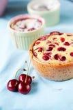 Cherry clafoutis Stock Image