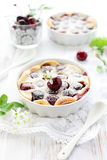 Cherry Clafoutis Royalty Free Stock Photos