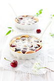Cherry Clafoutis Stock Photo