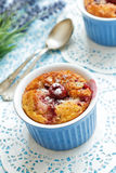Cherry Clafoutis Stock Photos