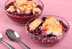 Cherry Cobbler Royalty Free Stock Images