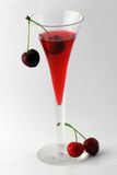 Cherry cocktail Royalty Free Stock Photos