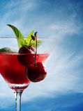 Cherry Cocktail Stock Image