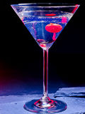 Cherry cocktail  on black background 57 Stock Photos