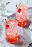 Cherry Cocktail Mocktail de restauración dulce foto de archivo
