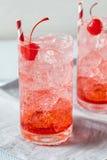 Cherry Cocktail Mocktail régénérateur doux Photographie stock