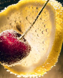 Cherry Cocktail sunny Stock Photos
