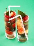 Cherry cocteil Stock Photography