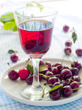 Cherry compote royalty free stock photography