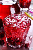 Cherry compote Royalty Free Stock Photo