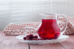Cherry compote Royalty Free Stock Image