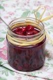 Cherry confiture. Stock Photo