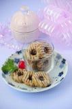 Cherry Cookies 04 Royalty Free Stock Photos