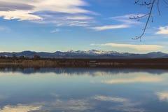 Cherry Creek Reservoir royalty-vrije stock afbeelding