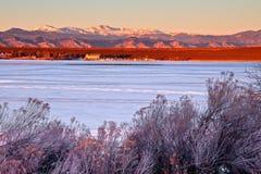 Cherry Creek State Park i Denver, Colorado Arkivbilder