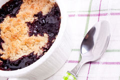 Cherry crumbles Stock Image
