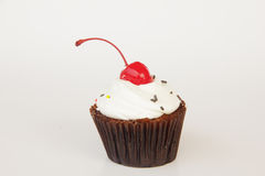 Cherry Cupcake - Stock Image Royalty Free Stock Image