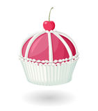Cherry Cupcake Royalty Free Stock Photo