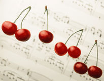 cherry czerwony Obrazy Stock