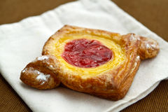 Cherry danish Royalty Free Stock Photos