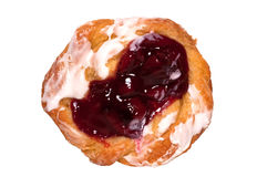 Cherry Danish Stock Photography