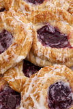 Cherry Danish Stock Photo