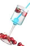 Cherry drink Stock Photos