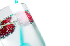 Cherry drink Stock Images