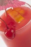 cherry drinka czerwony Obrazy Royalty Free