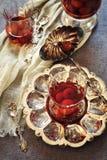 Cherry Eau de vie: french fruit brandy Stock Photo