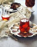 Cherry Eau de vie: french fruit brandy Stock Image