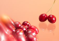 Cherry flavor Royalty Free Stock Photo