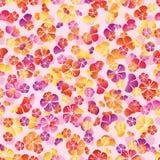 Cherry flower colorful modern seamless pattern Stock Photo
