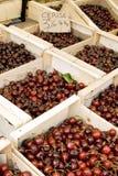 cherry francuskiego rynku zdjęcia stock