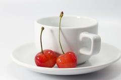 Cherry fresh fruit Stock Images