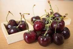 Set of Cherry. A fresh Cherry (fruit) (food) (nature Stock Photography