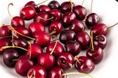 Cherry Fruit Background Texture Pattern imagem de stock royalty free