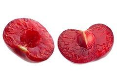 Cherry fruit isolated on white Stock Photo