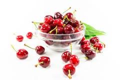 Cherry Fruit d'isolement Images libres de droits