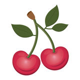 Cherry fruit food Royalty Free Stock Image
