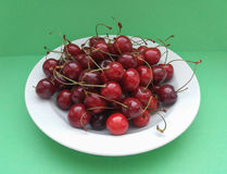 Cherry fruit food Royalty Free Stock Images