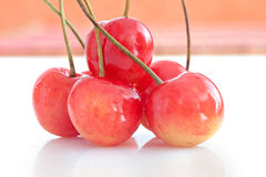 Cherry fruit healthy diet food Stock Photos