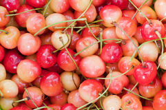Cherry fruit healthy diet food Stock Image