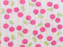 Cherry fruit pattern Royalty Free Stock Images