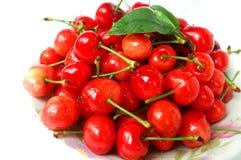 Cherry fruits Stock Photo