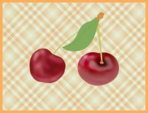 Cherry fruits Royalty Free Stock Photo