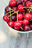 Cherry fuits outdoor Royalty Free Stock Image