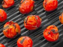 Cherry grillade tomater royaltyfri foto