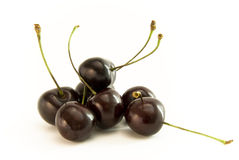 Cherry group with stern Royalty Free Stock Image